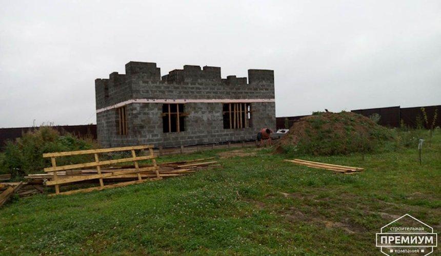 Строительство коттеджа из бризолита в Горном щите 9