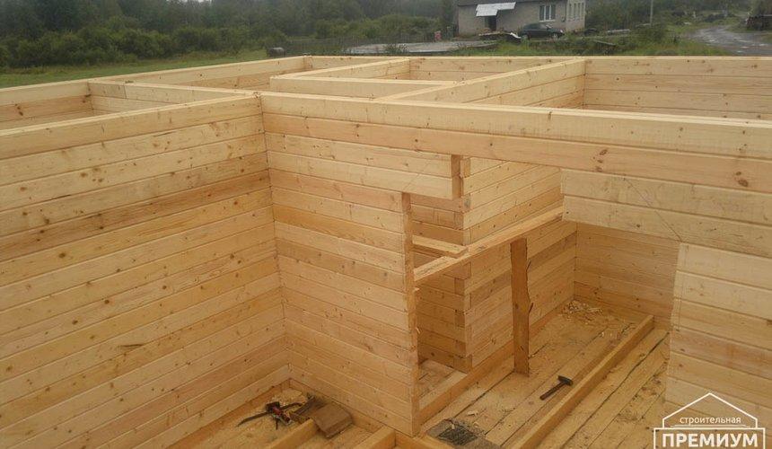 Строительство дома из бруса в Горном щите 4