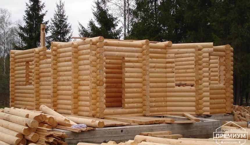 Проектирование и строительство дома из бревна в Березовском 10