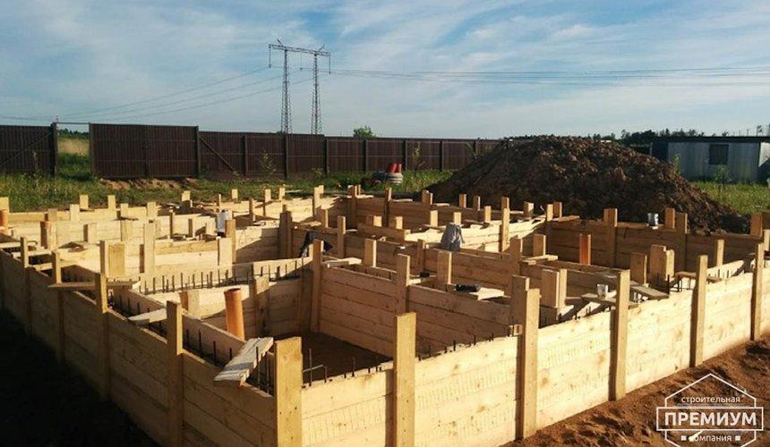 Строительство коттеджа из бризолита в Горном щите 3