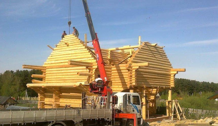 Строительство дома из бревна в Балтыме 16