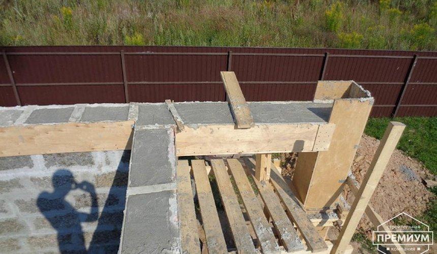Строительство коттеджа из бризолита в Горном щите 17