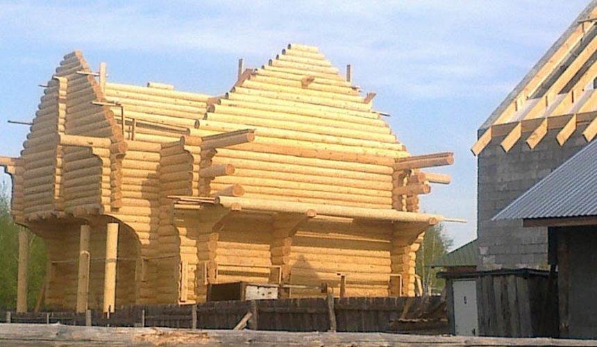 Строительство дома из бревна в Балтыме 17