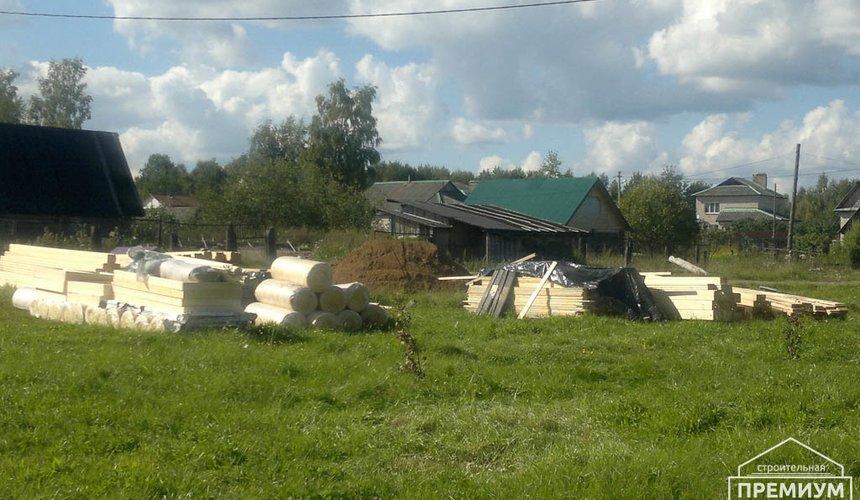 Строительство дома из бруса в Горном щите 1