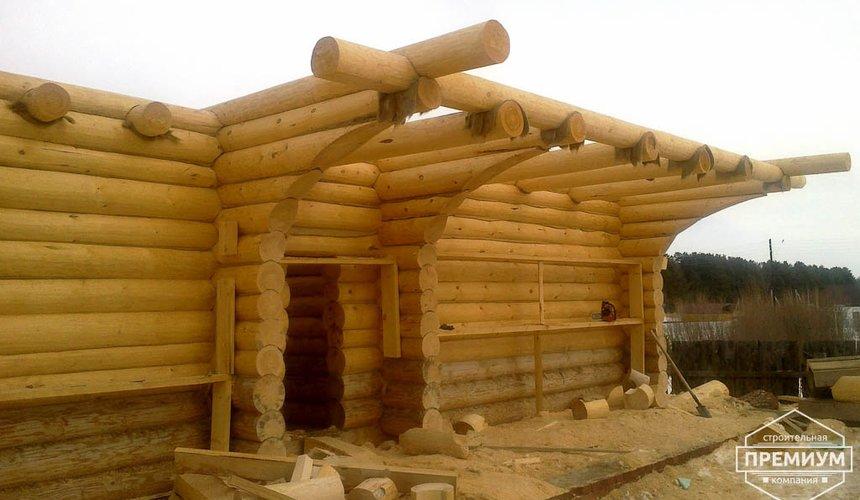 Строительство дома из бревна в Балтыме 19