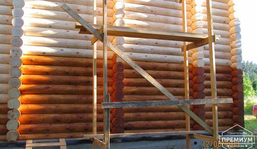 Проектирование и строительство дома из бревна в Березовском 11