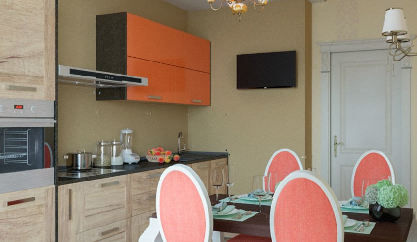 Ремонт и дизайн интерьера трехкомнатной квартиры по ул. Малогородская 4 52