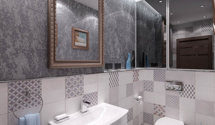 Ремонт и дизайн интерьера трехкомнатной квартиры по ул. Авиационная 16 93