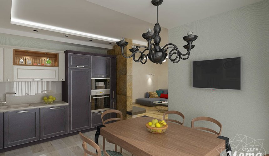 Ремонт и дизайн интерьера четырехкомнатной квартиры по ул. Союзная 2 44