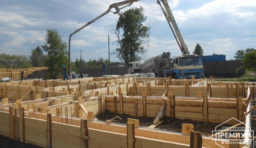 Строительство дома из блоков в коттеджном посёлке Алые паруса 16
