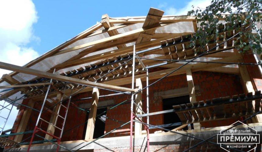 Строительство дома из кирпича в п.Сысерть 100