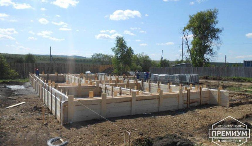 Строительство дома из блоков в коттеджном посёлке Алые паруса 17