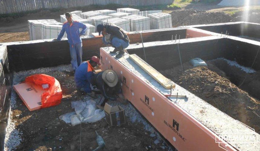 Строительство дома из блоков в коттеджном посёлке Алые паруса 18
