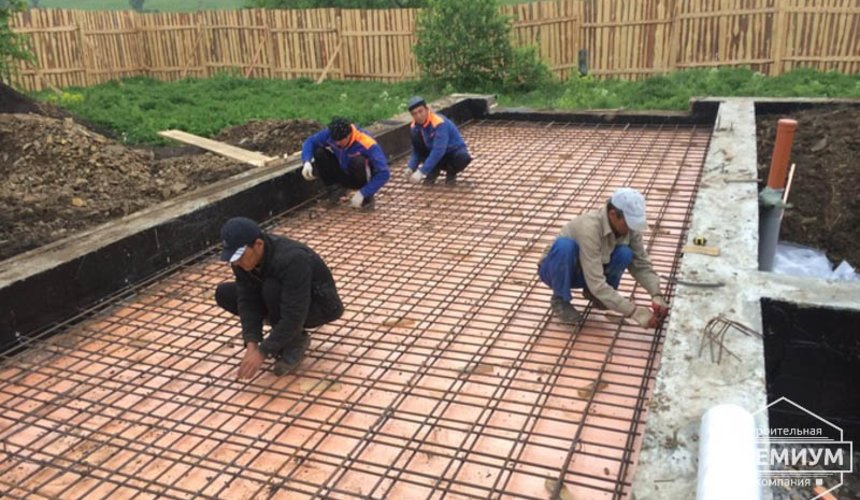 Строительство дома из блоков в коттеджном посёлке Алые паруса 19
