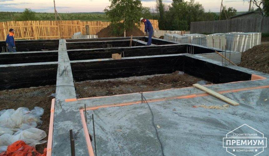 Строительство дома из блоков в коттеджном посёлке Алые паруса 20