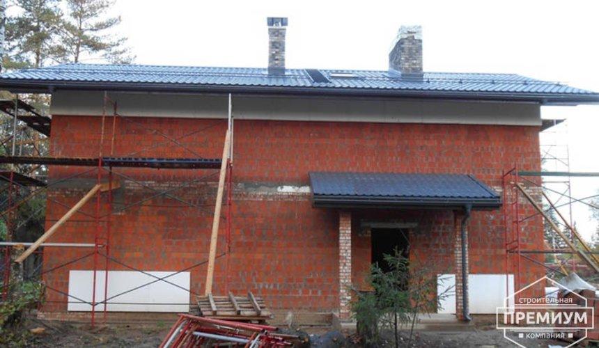 Строительство дома из кирпича в п.Сысерть 121