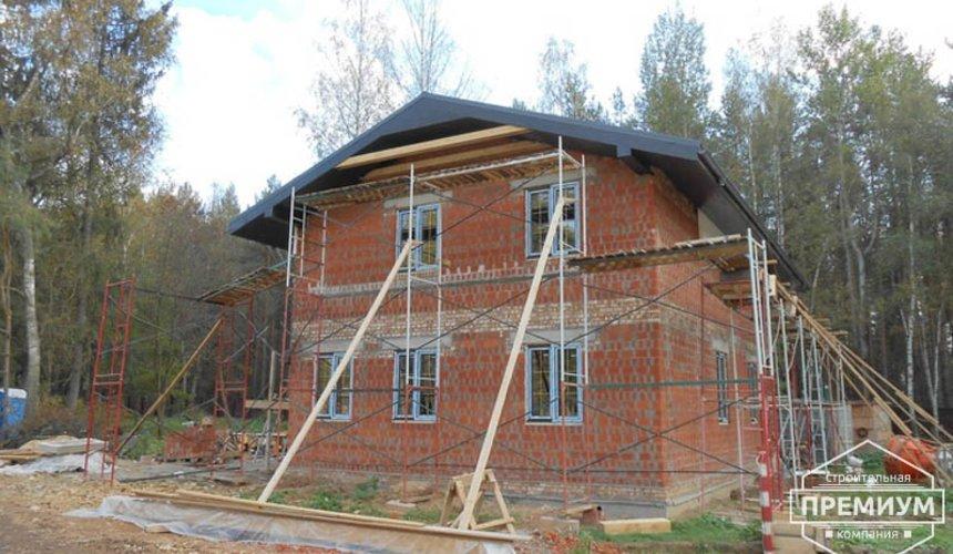 Строительство дома из кирпича в п.Сысерть 122