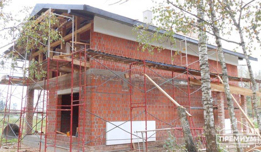 Строительство дома из кирпича в п.Сысерть 129