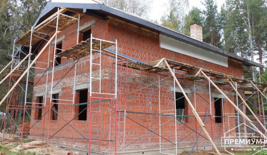 Строительство дома из кирпича в п.Сысерть 130