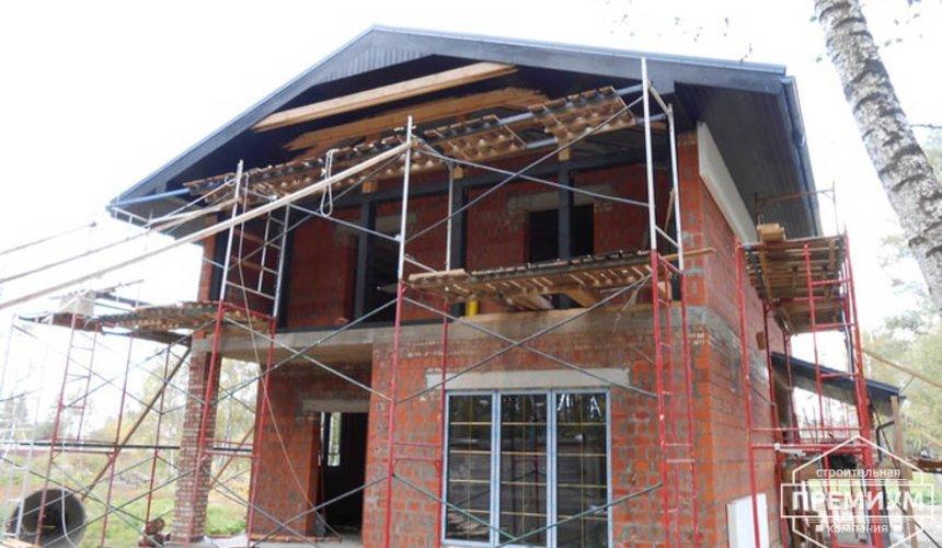 Строительство дома из кирпича в п.Сысерть 133