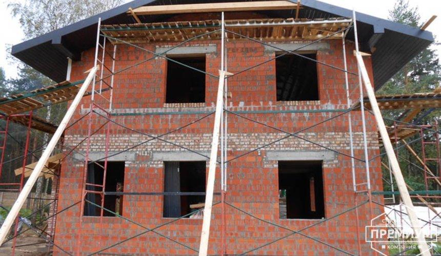 Строительство дома из кирпича в п.Сысерть 135