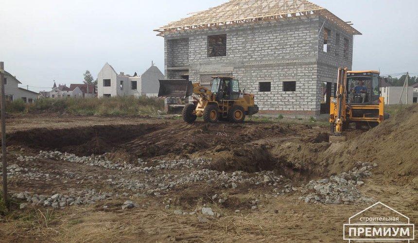 Строительство дома из блоков в с.Курганово 14
