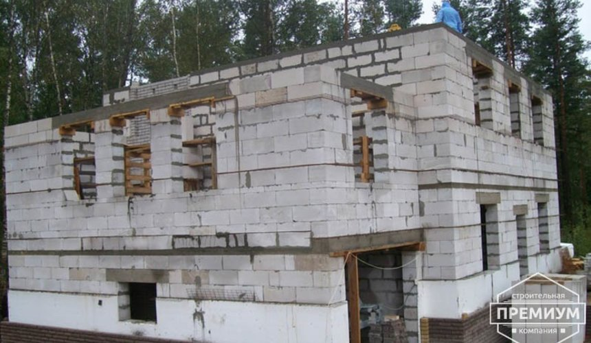 Проектирование и строительство дома из блоков в п.Верхняя Сысерть 20