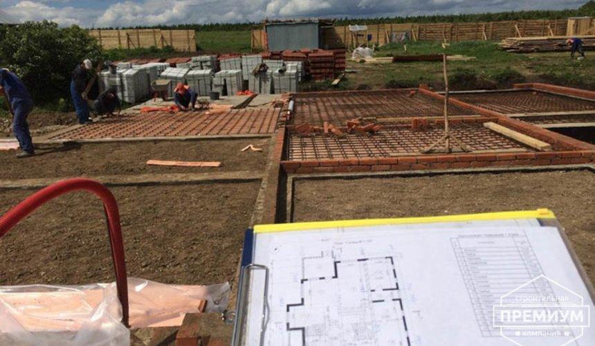 Строительство дома из блоков в коттеджном посёлке Алые паруса 25