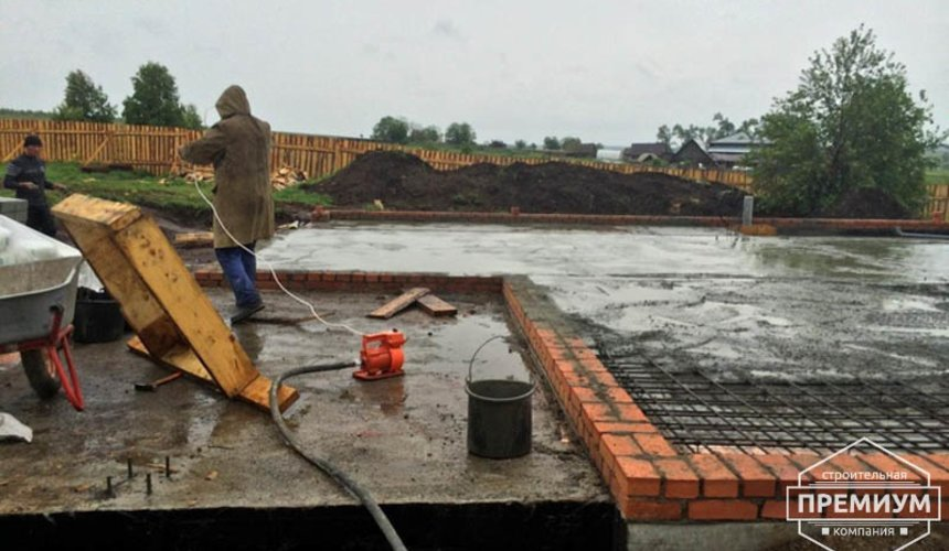 Строительство дома из блоков в коттеджном посёлке Алые паруса 28
