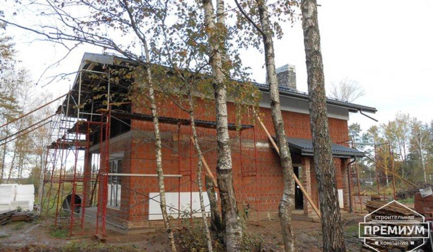 Строительство дома из кирпича в п.Сысерть 155