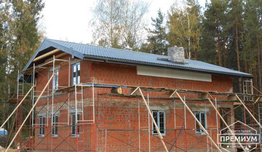 Строительство дома из кирпича в п.Сысерть 156