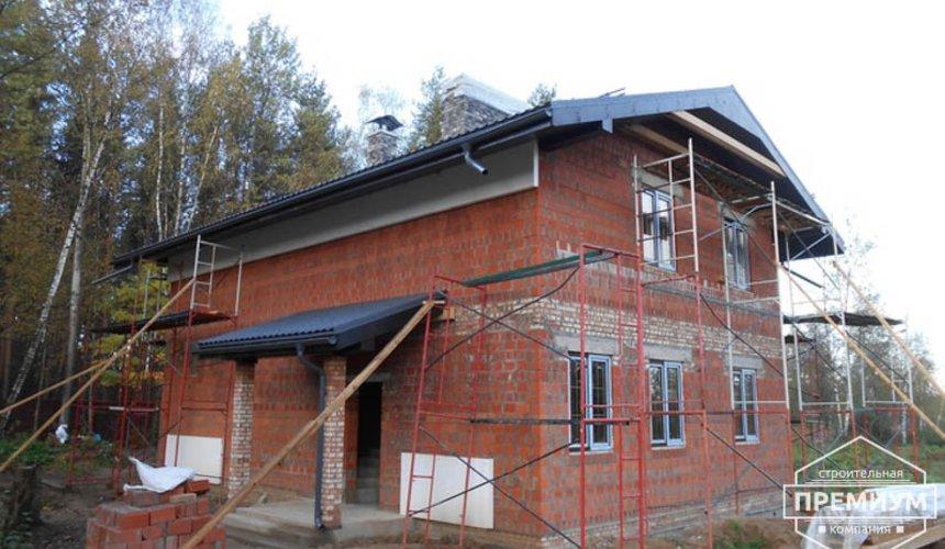 Строительство дома из кирпича в п.Сысерть 159