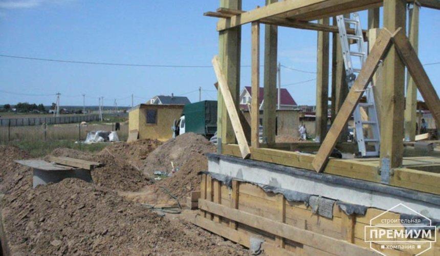 Строительство каркасного дома в коттеджном посёлке Александрия 24