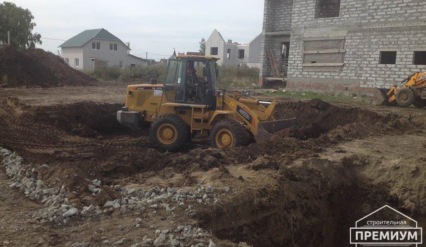 Строительство дома из блоков в с.Курганово 17