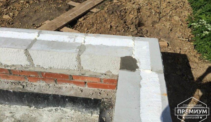 Строительство дома из блоков в коттеджном посёлке Алые паруса 30