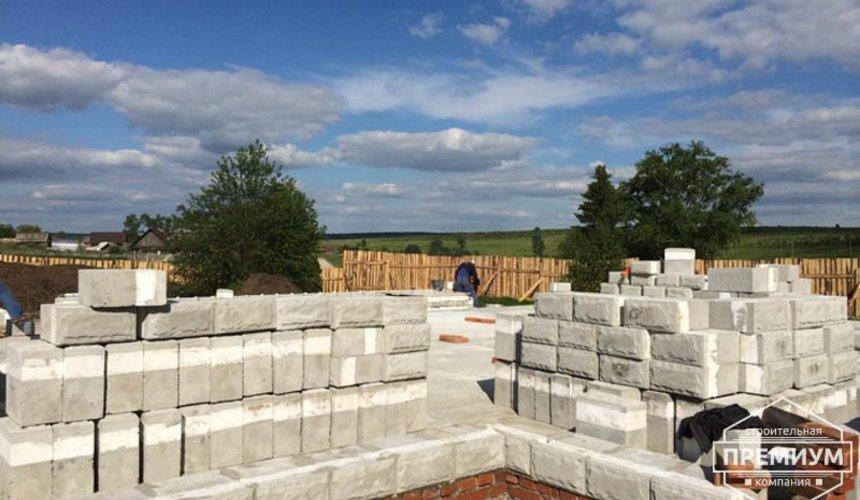 Строительство дома из блоков в коттеджном посёлке Алые паруса 32