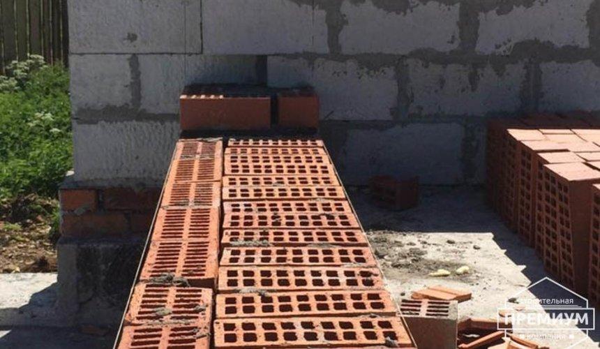 Строительство дома из блоков в коттеджном посёлке Алые паруса 33