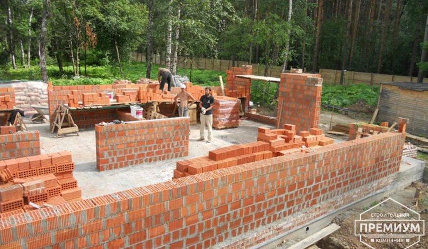 Строительство дома из кирпича в п.Сысерть 6