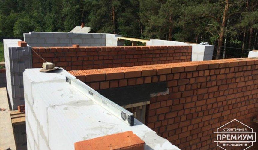 Строительство дома из блоков в коттеджном посёлке Алые паруса 37