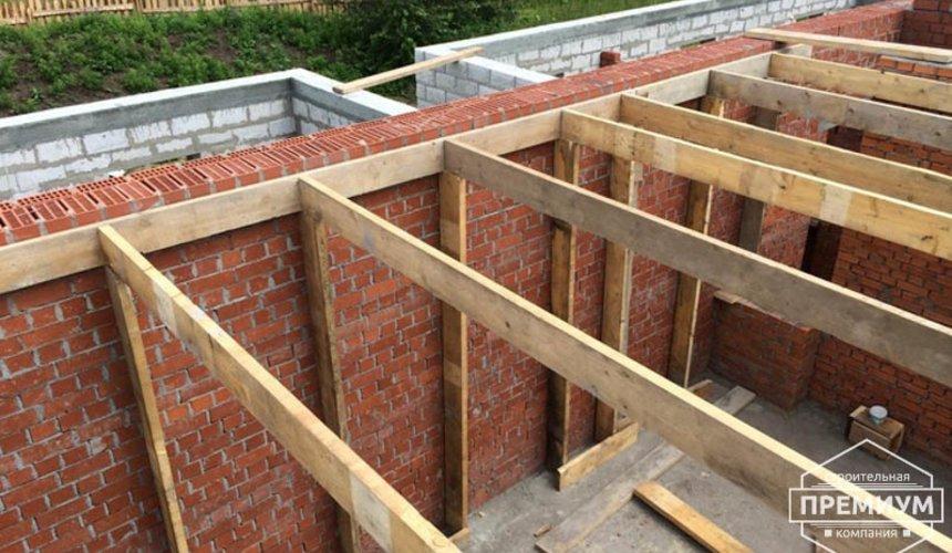 Строительство дома из блоков в коттеджном посёлке Алые паруса 39