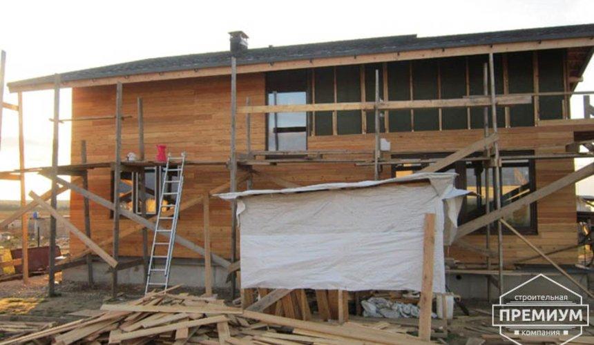 Строительство каркасного дома в коттеджном посёлке Александрия 30