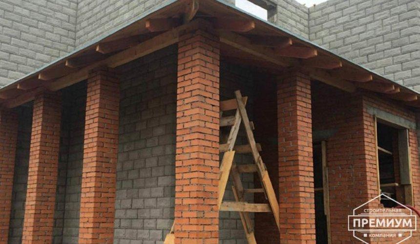 Строительство дома из блоков в коттеджном посёлке Алые паруса 46