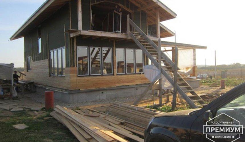 Строительство каркасного дома в коттеджном посёлке Александрия 42