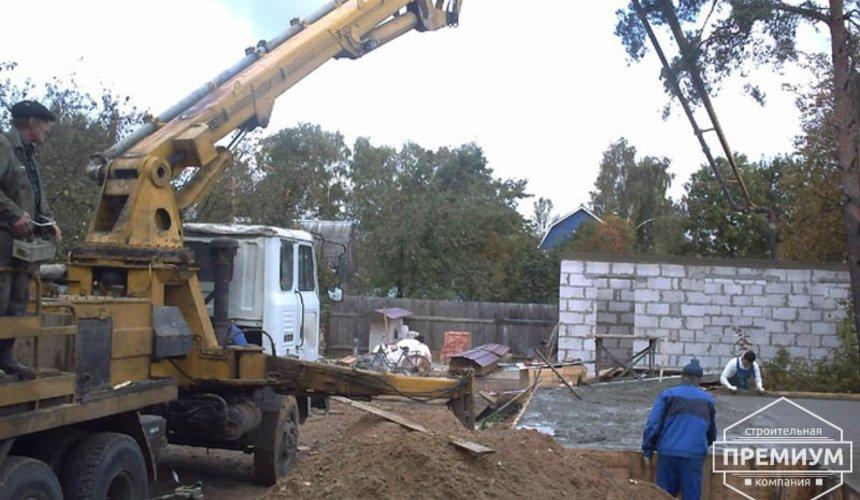 Проектирование и строительство дома из блоков в коттеджном посёлке Брусника 33