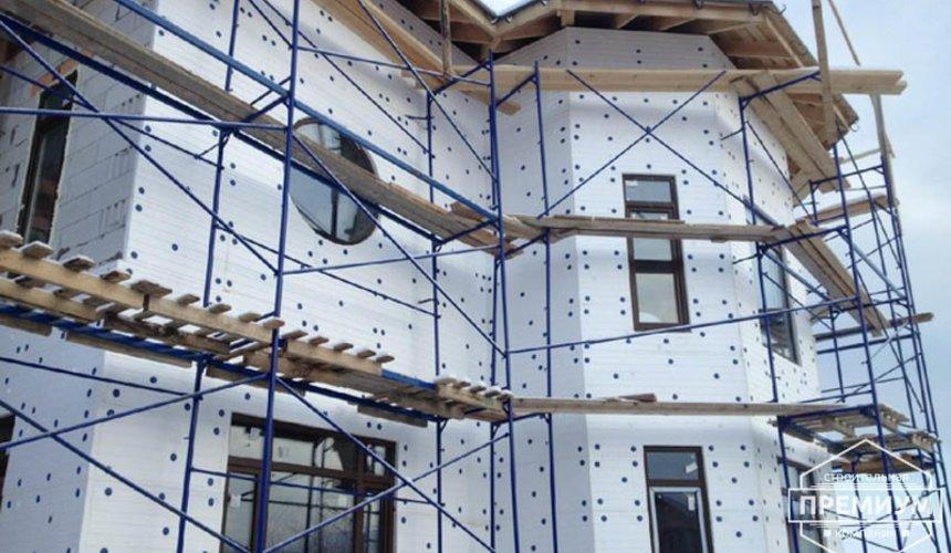 Проектирование и строительство дома из блоков в коттеджном посёлке Новая Россоха 39