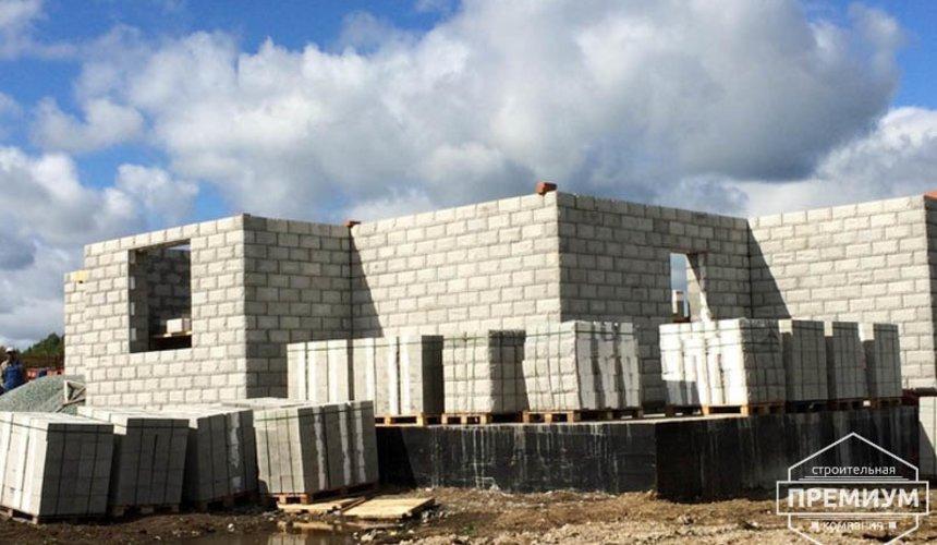 Строительство дома из блоков в коттеджном посёлке Алые паруса 47