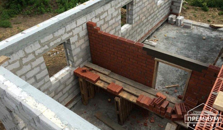 Строительство дома из блоков в коттеджном посёлке Алые паруса 48