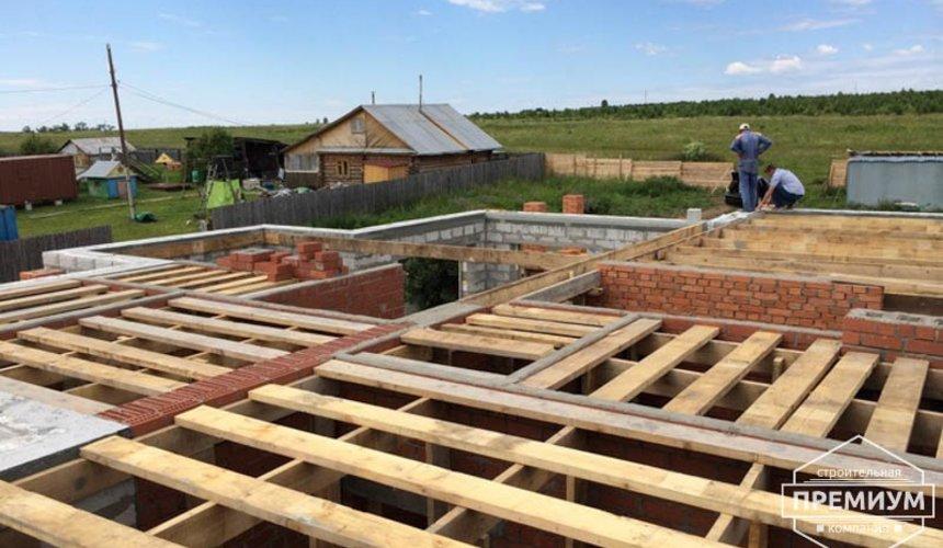 Строительство дома из блоков в коттеджном посёлке Алые паруса 51