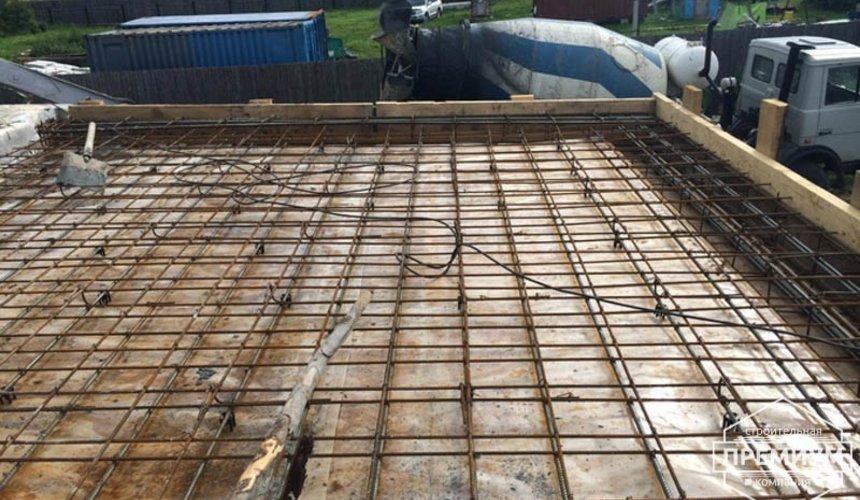 Строительство дома из блоков в коттеджном посёлке Алые паруса 52