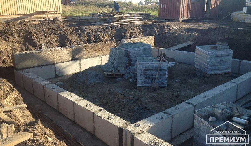 Строительство дома из блоков в с.Курганово 28
